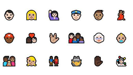 Microsoft lança novos emojis com opções de tom de pele