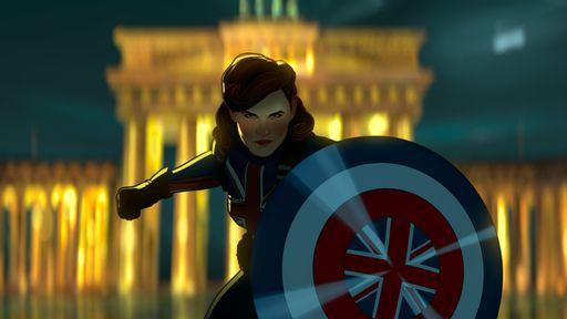 What If...? │ E se a Peggy Carter tomasse o soro do supersoldado?