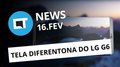 LG G6 diferentão, Guia de empregos no Facebook, novos chips da Qualcomm e + [CTN