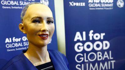 """Apesar de incertezas, robô crê que inteligência artificial é """"boa para o mundo"""""""