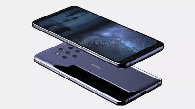 Nokia 9 aparece ostentando suas cinco câmeras e novas imagens vazadas