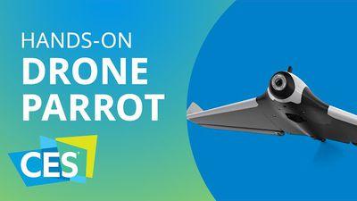 Novo drone Parrot com asas fixas [Hands-on | CES 2016]
