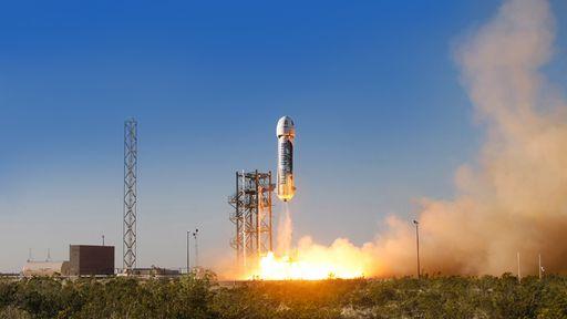 Blue Origin revela planos para enviar pessoas ao espaço nos próximos anos