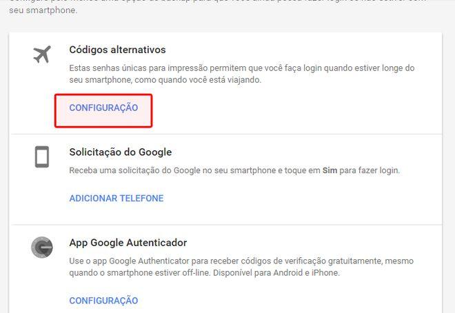 gmail codigos