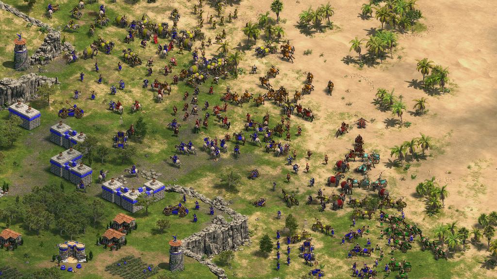 Ajustes na jogabilidade permitem que remasterização seja mais palatável ao público da atualidade. Uma das mudanças foi o incremento do limite populacional