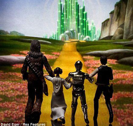 Star Wars O Mágico de Oz
