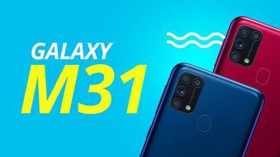 Galaxy M31: o modelo mais competitivo da Samsung em 2020