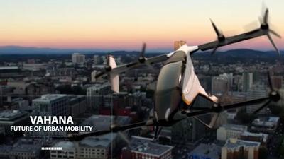 Táxi aéreo autônomo Vahana é bem-sucedido em seu primeiro voo de teste