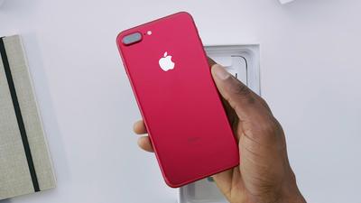 Apple deixa de vender iPhone 7 na cor vermelha