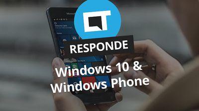 Problemas com o Windows 10 e WinPhone [CT Responde]