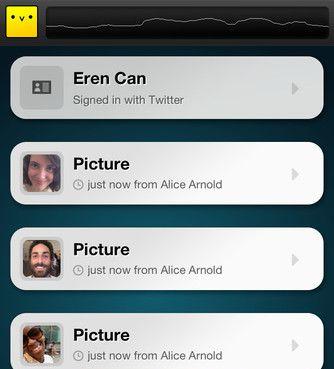 Chirp app screenshot