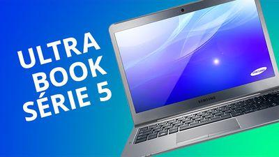 Ultrabook Série 5, da Samsung, para o site Canaltech [Análise]