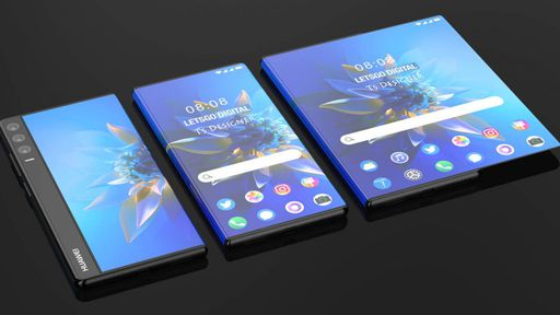 Imagens mostram visual de novo celular de tela rolável da Huawei