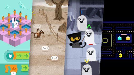 Os 10 melhores games do Google Doodle que você precisa conhecer