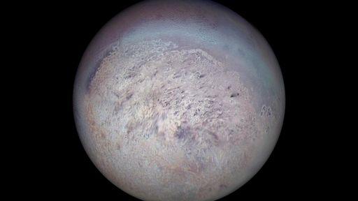 Lua Tritão pode ter destruído quase todas as outras luas de Netuno