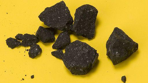 Água com CO2 é encontrada em meteorito que data do início do Sistema Solar
