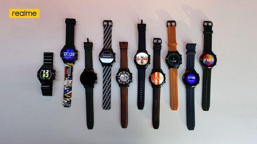 Realme Watch S e Watch S Pro são anunciados com foco em bateria e preços baixos
