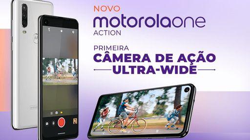 Imagem revela que Motorola One Action chega ao Brasil nesta sexta (16)