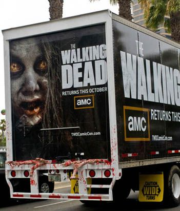 Caminhão The Walking Dead