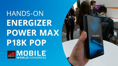 Smartphone com 18.000mAh da Energizer [Hands-on]