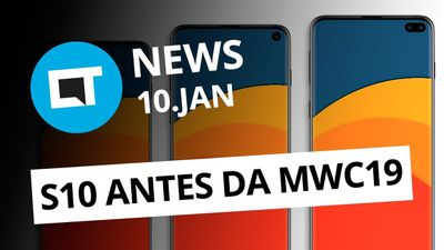 Galaxy S10 em fevereiro; Novas regras p/ baterias nos Correios; e+ [CT News]