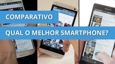 iPhone 5, Galaxy S4, HTC One, Xperia ZQ, Lumia 920 e BlackBerry Z10, qual é o melhor? [Comparativo]