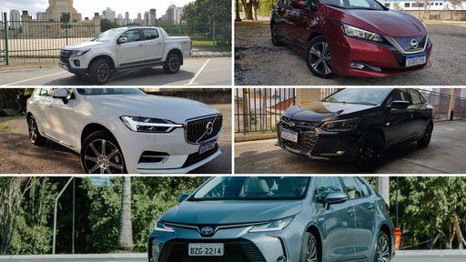 Os 5 melhores carros para presentear o seu pai