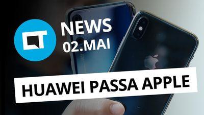 Smartphone com 18.000 mAh fracassou; Vendas de iPhones caem 30,2% e + [CT News]