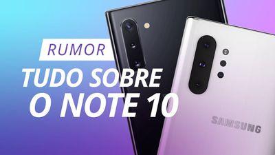 Galaxy Note 10: TUDO que sabemos sobre o aparelho até agora [Rumor]