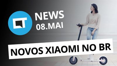 Patinete da Xiaomi no BR; Smartphone dobrável do Google e + [CT News]