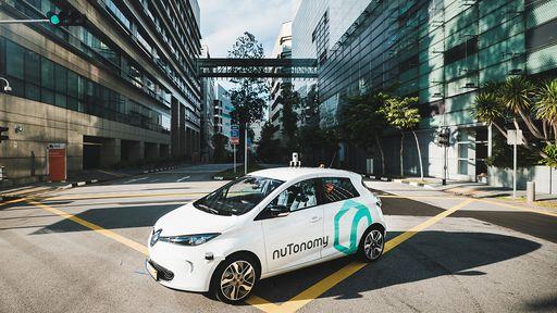 Primeiro táxi que dirige sozinho começa a circular em Singapura