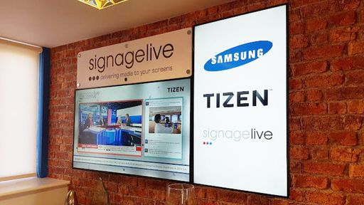 Samsung expande uso do Tizen em novos painéis publicitários inteligentes