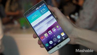 LG lança o G3 Screen, seu primeiro smartphone com processador próprio