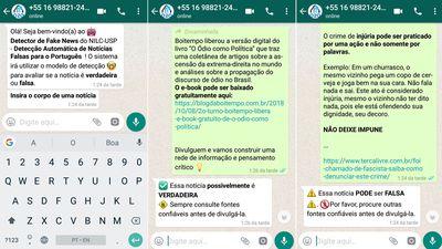 USP e Ufscar criam ferramenta para detecção de fake news na web e WhatsApp