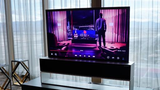 CES 2019   LG inova e lança a primeira TV enrolável do mundo