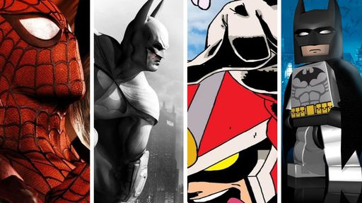 Os 10 melhores jogos de super-heróis da história dos games