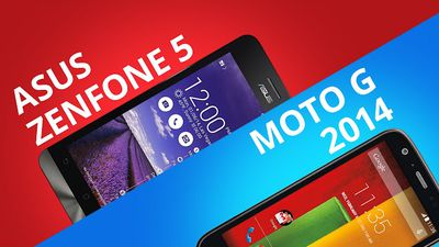 Zenfone 5 VS Moto G 2014: o comparativo do ano! [Comparativo]