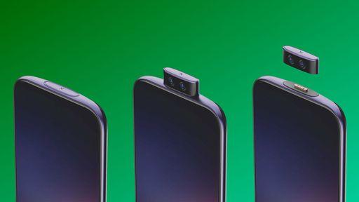Chinesa Vivo cria conceito de celular modular com opção inovadora para a câmera