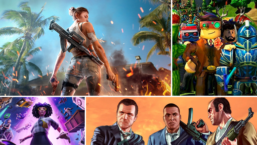 Free Fire, Roblox, GTA 5 e Fortnite: qual jogo rende mais dinheiro?