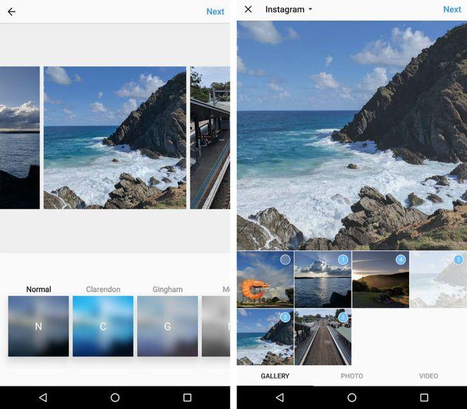 Novo recurso permitirá que os usuários escolham até dez fotos para compor um álbum. Edição e upload são feitos simultaneamente