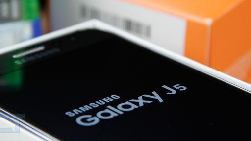 Galaxy J5 é o smartphone mais buscado em comparador de preços