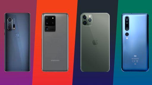 Comparativo: Motorola Edge+ vs. S20 Ultra vs. iPhone 11 Pro Max vs. Mi 10 Pro