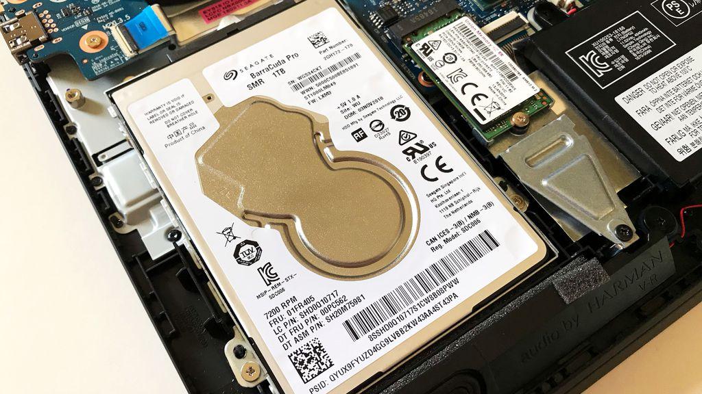 Adoção de um sistema de armazenamento híbrido, dividido entre SSD e HDD, é uma das melhores mudanças feitas neste Legion Y530