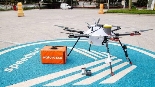 Natura quer entregar produtos cosméticos por drones a partir de 2022