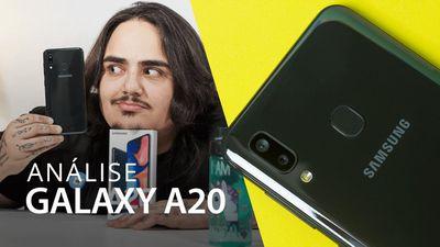 Samsung Galaxy A20: tela AMOLED com preço acessível [Análise / Review]