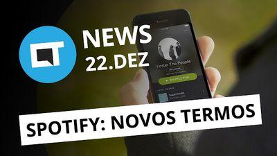 Spotify quer seu sigilo bancário, vão faltar telas para o iPhone 8 e + [CT News]