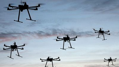 João Doria anuncia programa de monitoramento por drones que auxiliará a PM
