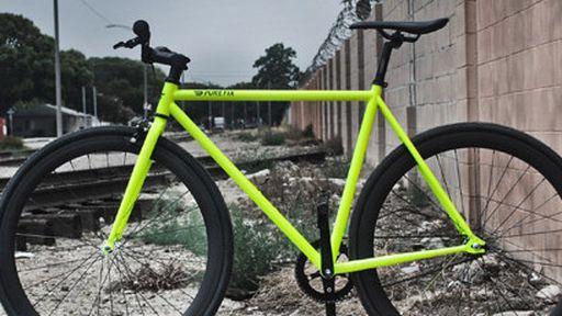 Mais segurança: bicicleta que brilha no escuro