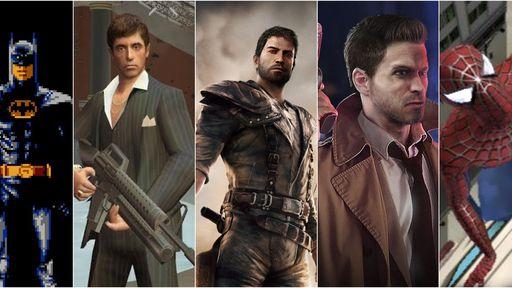 10 grandes jogos baseados em filmes