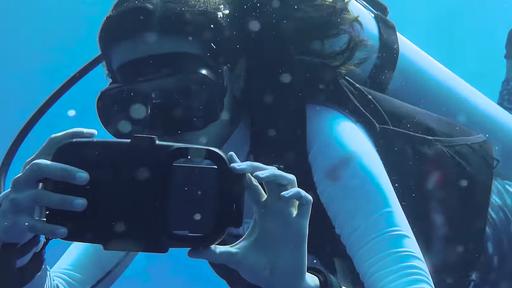 Galaxy S21 Ultra mergulha nas Maldivas com o Nat Geo e registra belas imagens